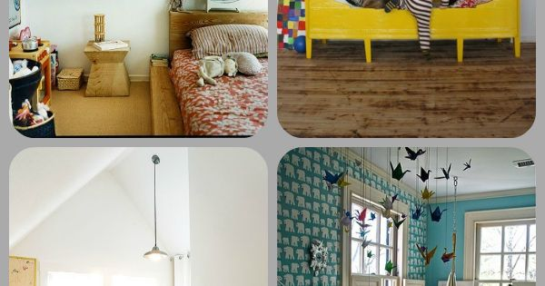 bliss blog - wee wednesday: kids spaces love these kids rooms