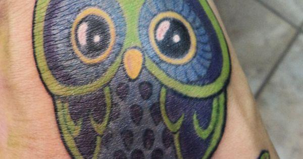 Wisdom (symbol) tattoo idea.