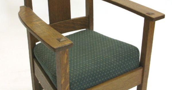 Limbert arm chair  Charles P. Limbert Furniture  Pinterest  Arm ...