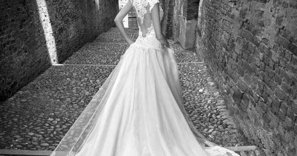 Robe de mariée dos nu, semi-nu et en dentelle – 70 designs  Robes ...