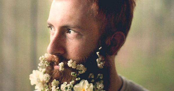 tendance barbe fleurie des fleurs dans la barbe 7 tendance barbe fleurie photo image hipster. Black Bedroom Furniture Sets. Home Design Ideas