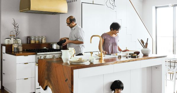 wood countertop - great idea for the kitchen counter: plus 10 standout