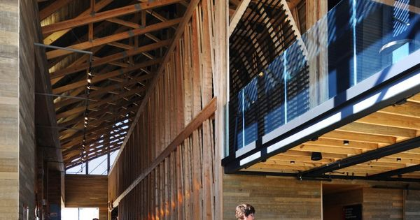 Gallery Of 2015 Aia Institute Honor Awards For Architecture 11 Visitor Center Architecture Workshop Architecture Architecture