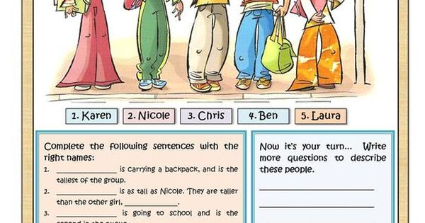 Free Worksheets teacher worksheet : WHO IS WHO worksheet - Free ESL printable worksheets made ...
