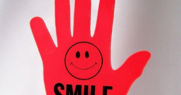 Vintage Hi Sign Waving Hand Car Window Dashboard Kitsch