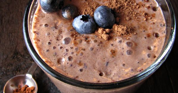 Check out Chocolate Blueberry Smoothie. It's so easy to make! | Syrup ...