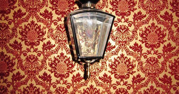 Fuzzy Wallpaper lamp lantern wallpaper red light My