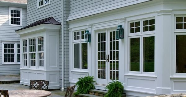 Traditional box bay window design pictures remodel for Box bay windows for sale