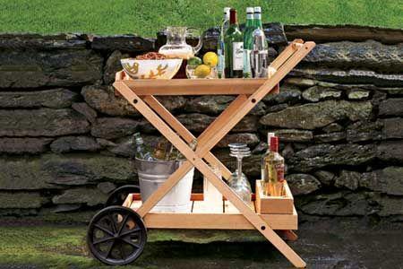 How To Build An Outdoor Bar Cart Diy Outdoor Bar Outdoor Bar Cart Outdoor Bar