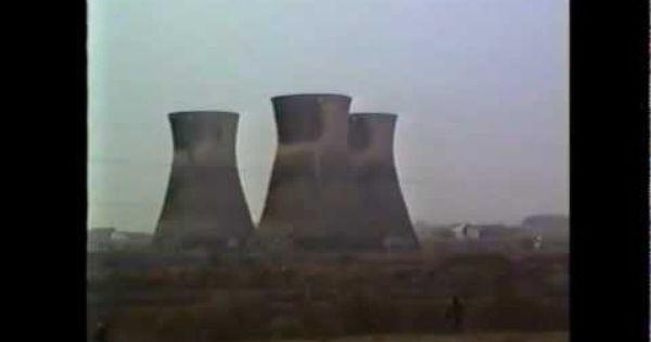 Chimney Demolition Bold Power Station St Helens U K Power