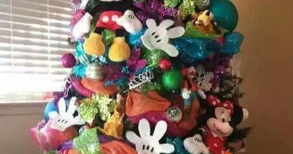 Arbol de navidad disney creativos pinos navide os - Arboles de navidad creativos ...