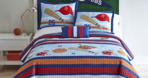 Mi Zone Game Day Quilt Set Bonus Decorative Pillow Comforter