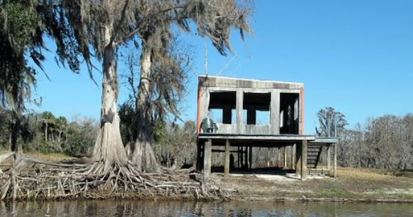 Car Dealerships In Jacksonville Fl >> This place was for sale - abandoned home - Volusia County, FL - St. Johns River | Ruins, Wrecks ...