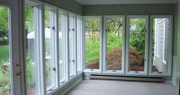 Sunroom Under Deck Future Idea For Basement Apt Sunroom Pinterest Sunroom Basements And