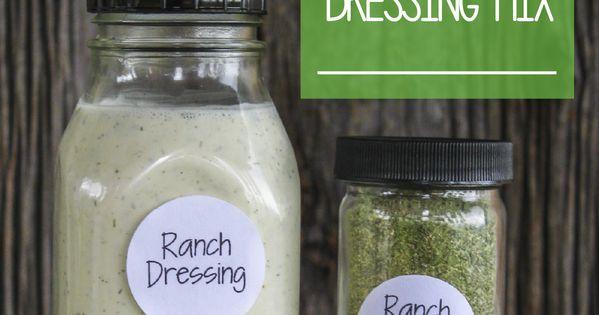 Homemade Ranch Dressing & Dip Mix - Healthy & All Natural