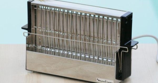 grille pain moulinex en inox ann es 70 vintage vintage family souvenirs souvenirs. Black Bedroom Furniture Sets. Home Design Ideas