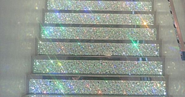 glitter stairs ♥ dream house!!