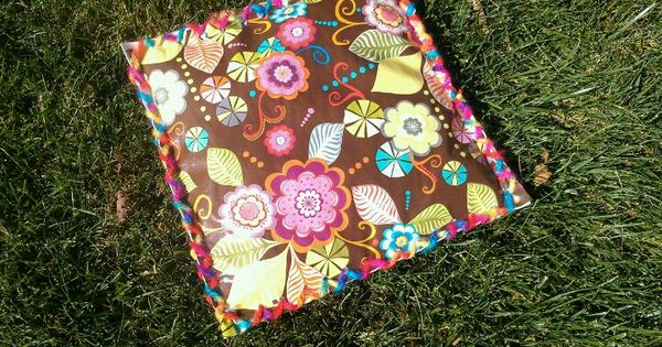 Brownie Girl Scout Sit Upons 15 Quot X 15 Quot Made With Oilcloth Vinyl Newspaper Batting