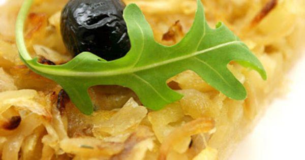 Een smaak van de zomer: De Pissaladière | food | Pinterest | Van and ...