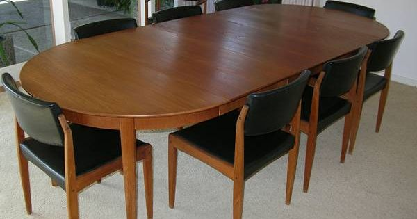 1960s Mid Century Modern Teak Dining Table Chairs Bramin  : 05aae02024d446498f15d7ae8877e449 from www.pinterest.com size 600 x 315 jpeg 28kB