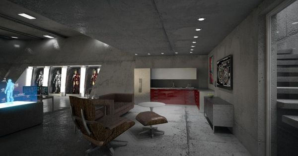 Tony Stark 39 S Garageby Alberto Birindelli House Design