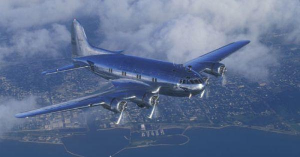 Boeing 307 Stratoliner 1940 Kevin S Hangar Pinterest