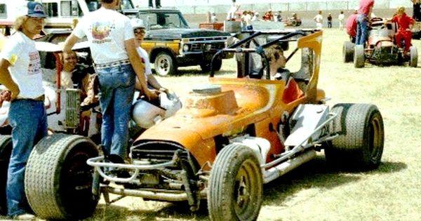 Rick Salem 1977 Hutchinson Old Race Cars Sprint Car Racing
