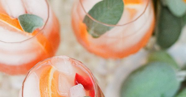 Guava Sangria with a Touch of Sage | 1 bottle of rose