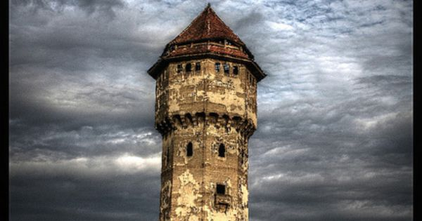 Abandoned tower by ela.wdowiarska, via Flickr