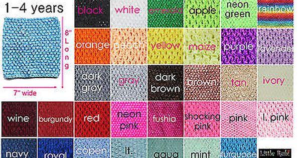 """9/"""" White Crochet Tutu Tube Top 6/"""" 10/"""" 16/"""" Unlined /& Lined USA Seller 12/"""" 8/"""""""