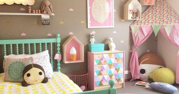Decoracion de habitaciones infantiles como elegir los - Decoracion de interiores infantil ...