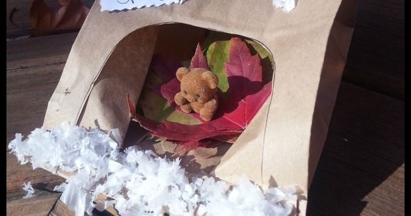 Paper Bag Bear Cave Craft: Learning about Hibernation ...