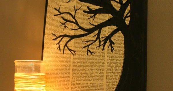Tutorial - How to create your own tree silhouette art using: Mod