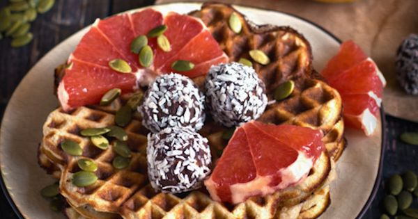Vegan Egg 1 Tablespoon Chia Seeds 1 2 Cup Water Waffle