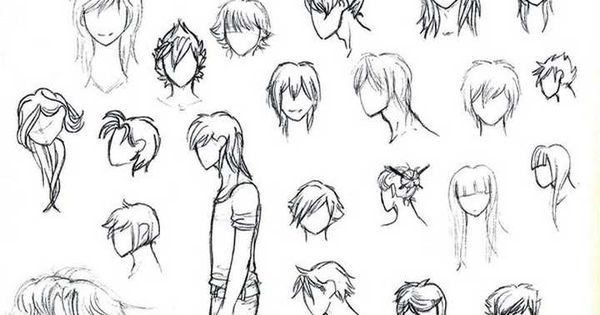anime hair styles by misspinks on deviantart