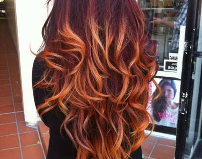 I love the ombre look. If I ever have long hair and