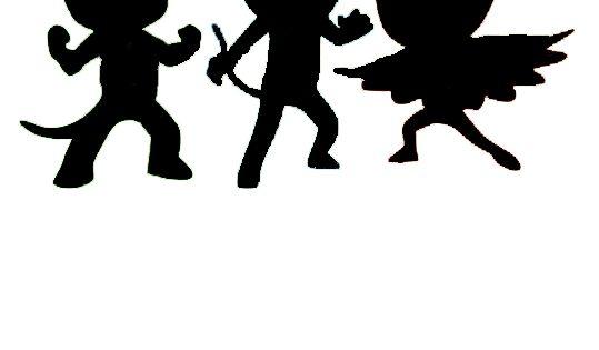 PJ Mask silhouette   Party Ideas   Pinterest   Fødselsdag