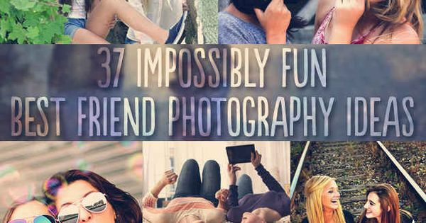37 Impossibly Fun Best Friend Photography Ideas.-- OR Big/Little Picture ideas!!