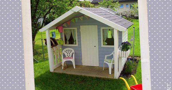 diy gartentraumhaus f r kleine prinzessinnen gartenhaus. Black Bedroom Furniture Sets. Home Design Ideas