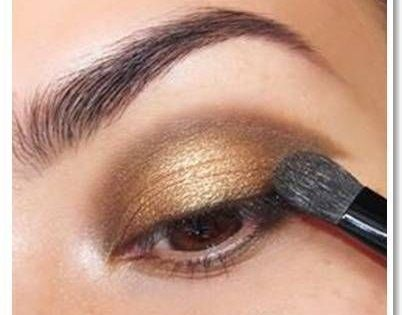 Best Golden Smokey Eye Makeup Tutorials For Brown Eyes By Makeup Tutorials.