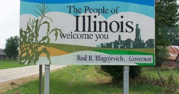 Welcome To Illinois Road Trip Usa Travel Fun Trip