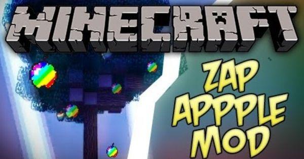 Minecraft Zap Apple Mod Minecraft Minecraft Mods Mod
