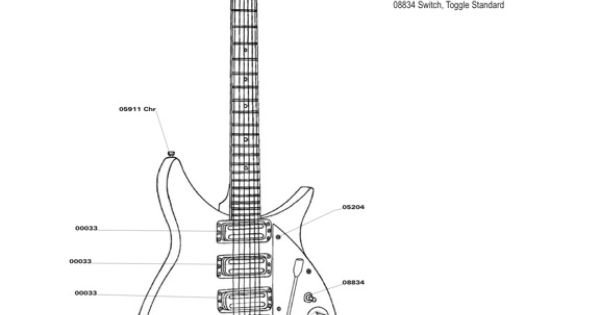official rickenbacker 325c58 parts list diagram  this is the first model of ric 325 played by