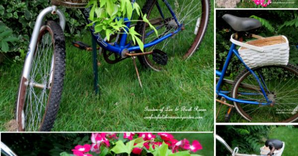 Diy Bicycle Planter Is So Cute Planters Gardens And