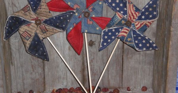 primitive memorial day decorations