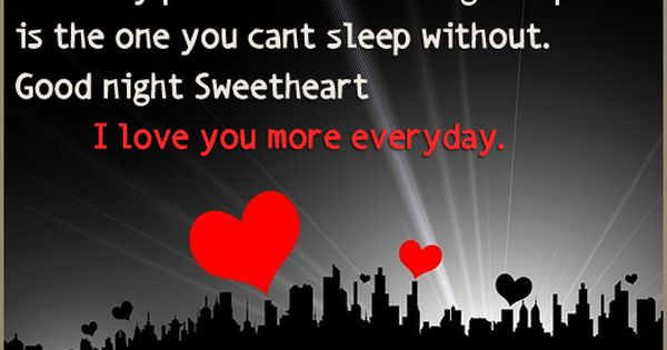 I Love You Quotes Pinterest: Good+night+sweet+dreams+i+love