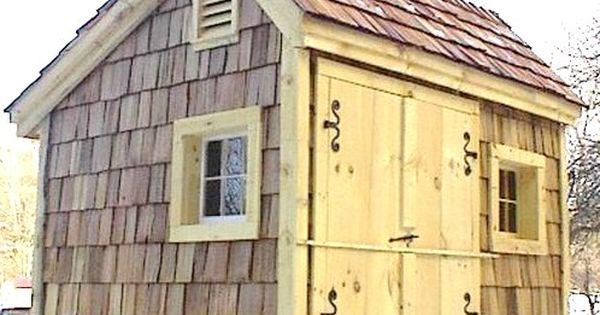 8 39 x 10 39 saltbox with optional red cedar shake shingle for Cedar shingle shed