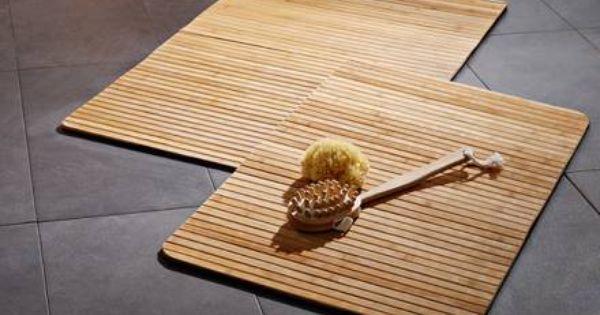 Badematte Aus Holz Danisches Bettenlager Badematte Holz Bambus