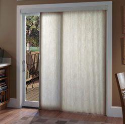 Vertical Cellular Blinds Sliding Door Window Treatments Sliding