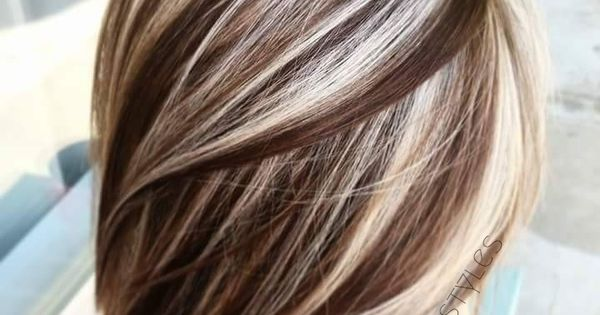 Coffee And Cream Lowlights And Highlights Using